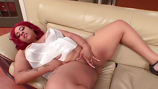Fat ass ebony sluts taped when finger fucking