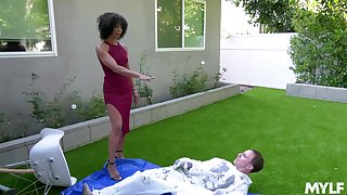Misty Stone knows how to satisfy all sexual desires of her friend