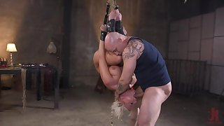 Milf less large tits, insane maledom bondage BDSM