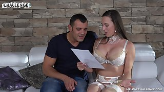 Professional full-grown model Mea Melone is fucked by one hot blooded guy