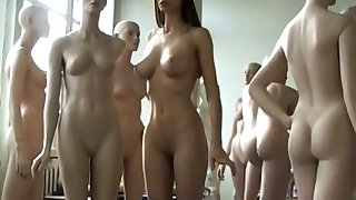 Amazing Nude Model in Art Film