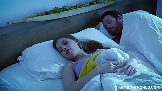 Quickie fucking next to a unrevealed husband - Britney Amber